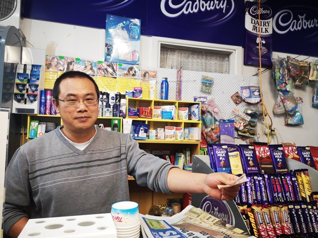 Wei Na in his Grey St Dairy